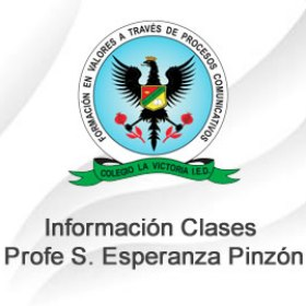 Clases Profe. Sandra Esperanza Pinzón