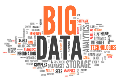 Nuage de mot BIG DATA