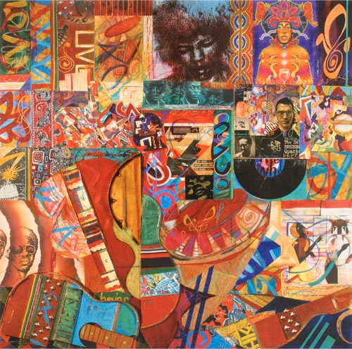 Voodoo Child by Cedric Cox, 48x48 inches