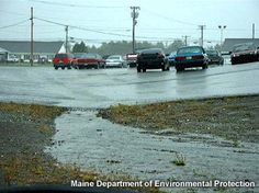parking lot stormwater runoff