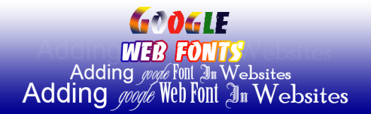 How to embed google font to your website