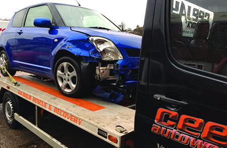 CeeJay Autoworx Recovery Car