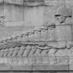 The shifting essence of Treptower Memorial, Berlin