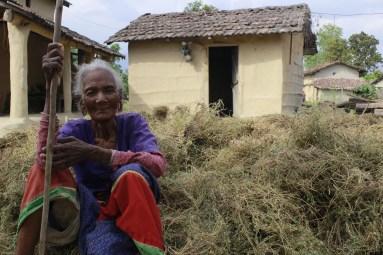 Woman from Tharu community