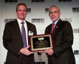 Jeff Carter, CEF Treasurer, and Representative Ruben Hinojosa (D-TX)