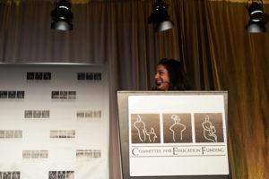 Gala MC Kavitha Cardoza, Education Week and PBS NewsHour