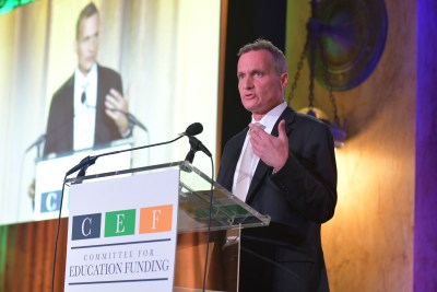 CEF Vice President Jeff Carter
