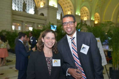 CEF Board Member Sarah Cohen and CEF Past President Makese Motley