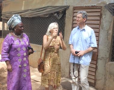 Visite de personnalité: le patron de Light for the World (LFW) revoit le CEFISE après 2005