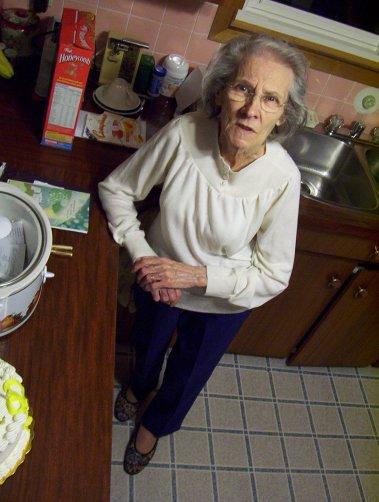 Rena in Kitchen