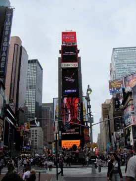 Times Square Streets-cape