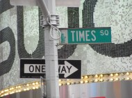 Times Square Sign