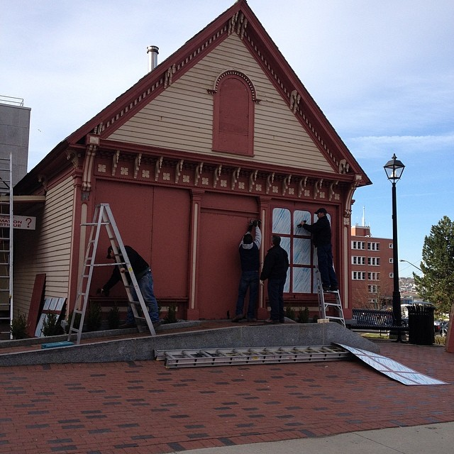 Look what building is going to see the light of day today! #livelifeuptown