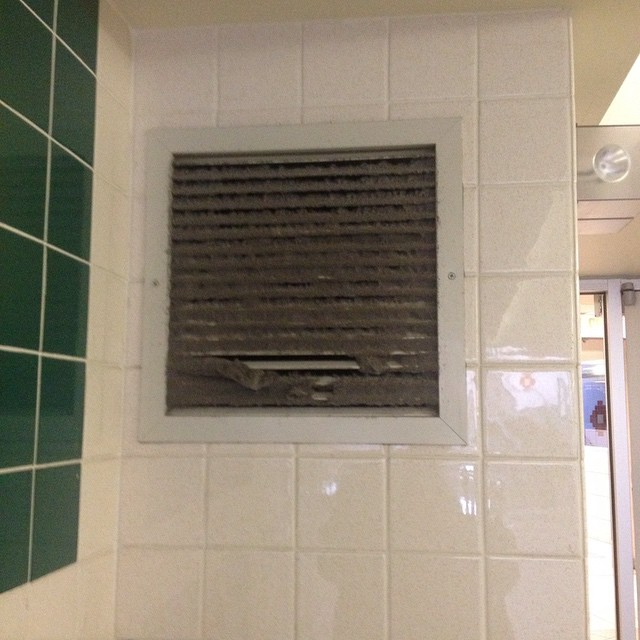 The Most Dusty vent in Saint John must be the one between @BrunswickSquare and @SJCityMarket