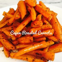 Cajun Roasted Carrots