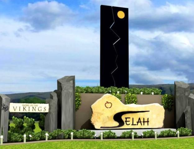 Proposed Selah sign