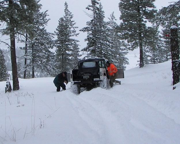 Photos: EWOR Pine Mountain New Year 4×4 Snow Run 2