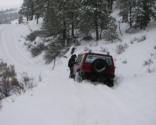 Photos: EWOR Pine Mountain New Year 4×4 Snow Run 6