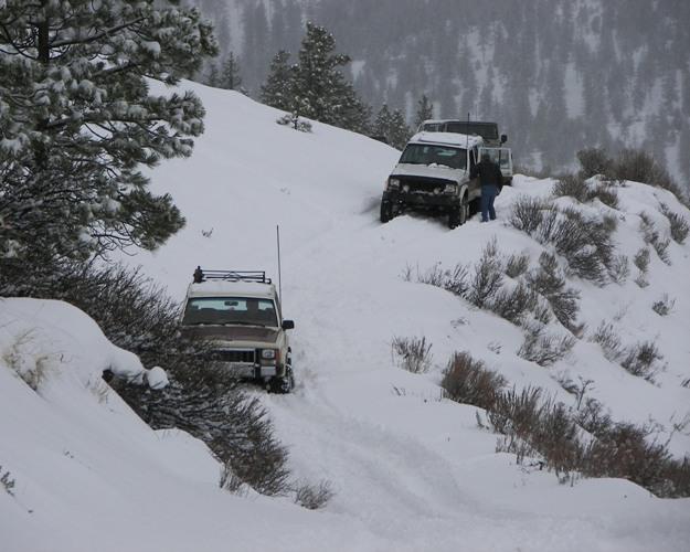 Photos: EWOR Pine Mountain New Year 4×4 Snow Run 8