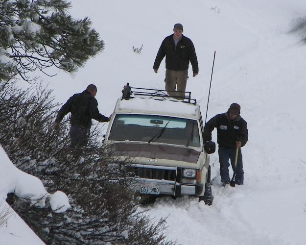 Photos: EWOR Pine Mountain New Year 4×4 Snow Run 11