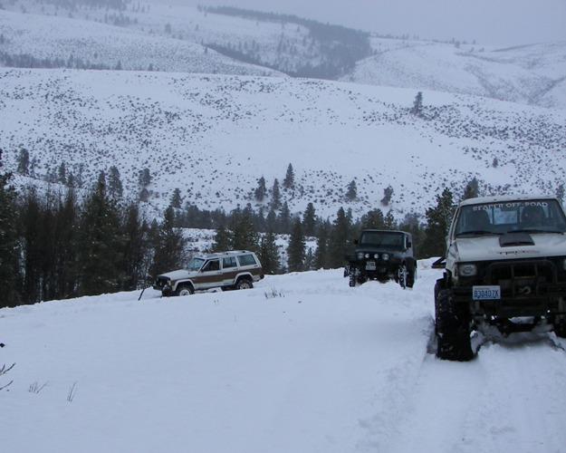 Photos: EWOR Pine Mountain New Year 4×4 Snow Run 28