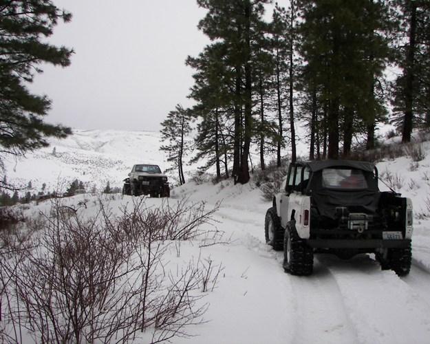 Photos: EWOR Pine Mountain New Year 4×4 Snow Run 30