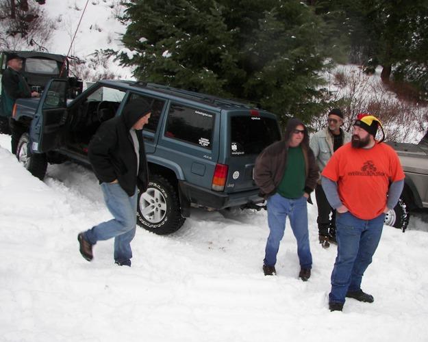 Photos: EWOR Pine Mountain New Year 4×4 Snow Run 41