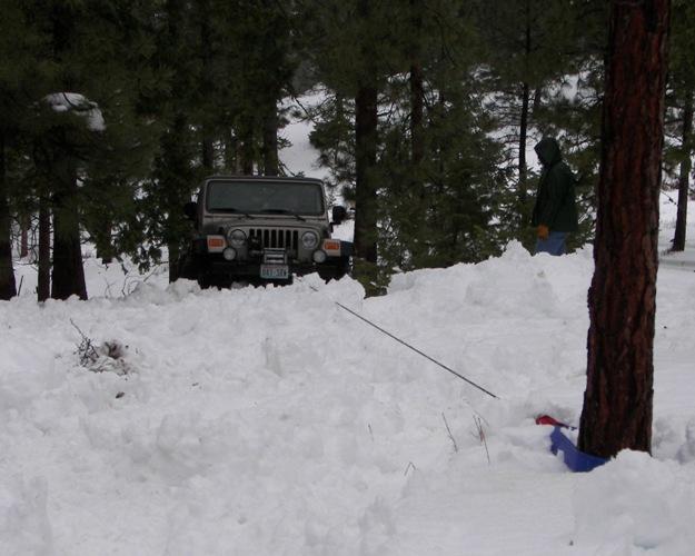 Photos: EWOR Pine Mountain New Year 4×4 Snow Run 46