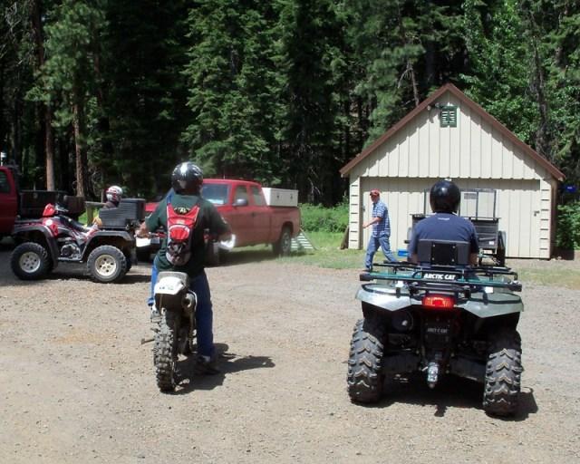 Photos: EWOR Ahtanum ORV Trail Maintenance Camp-out 1