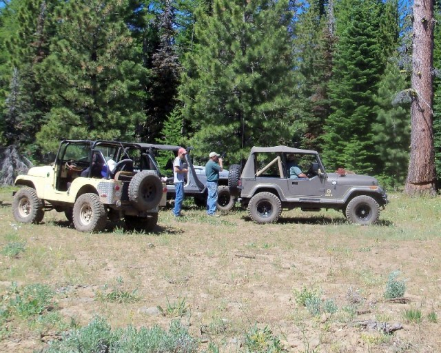Photos: EWOR Ahtanum ORV Trail Maintenance Camp-out 10