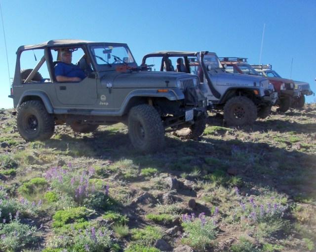 Photos: EWOR Ahtanum ORV Trail Maintenance Camp-out 41
