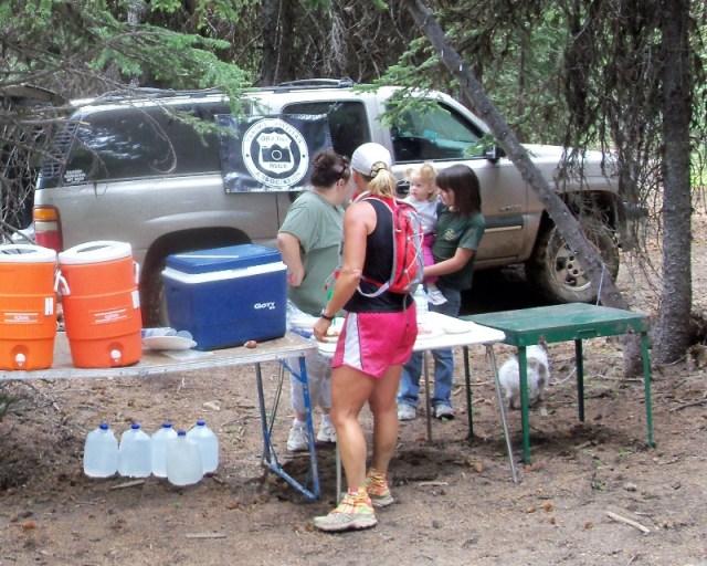 Photos: Grey Rock 50K Aid Station 15