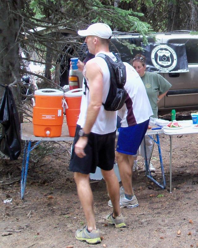Photos: Grey Rock 50K Aid Station 22
