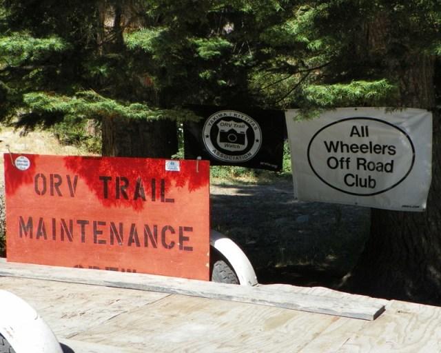 Photos: Trail 4W613 Work Day 1