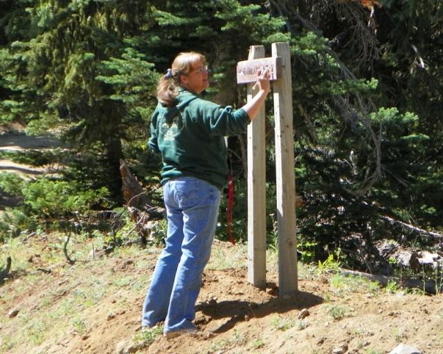 Photos: Trail 4W613 Work Day 5