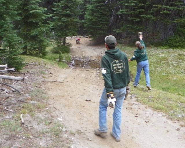 Photos: Trail 4W613 Work Day 31