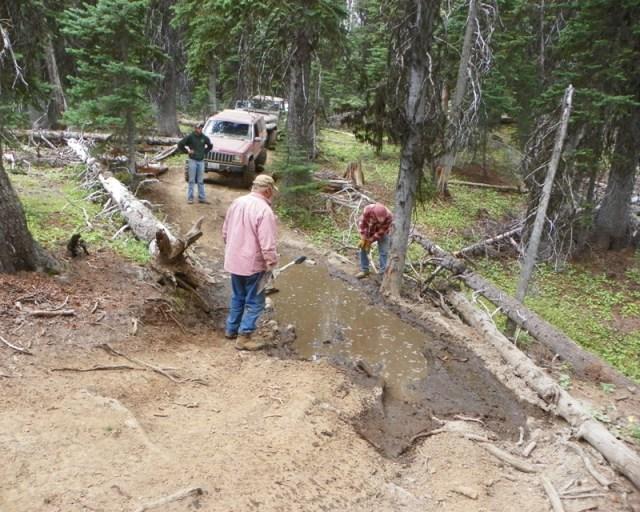 Photos: Trail 4W613 Work Day 39