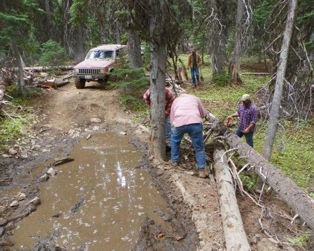 Photos: Trail 4W613 Work Day 40