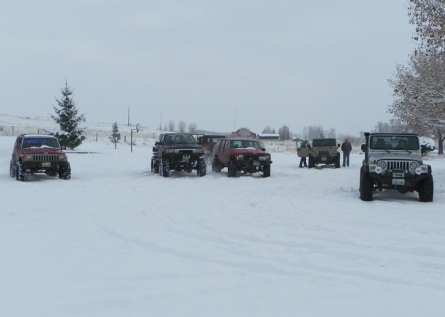 Photos: EWOR Thanksgiving 4x4 Run at the Ahtanum State Forest 1