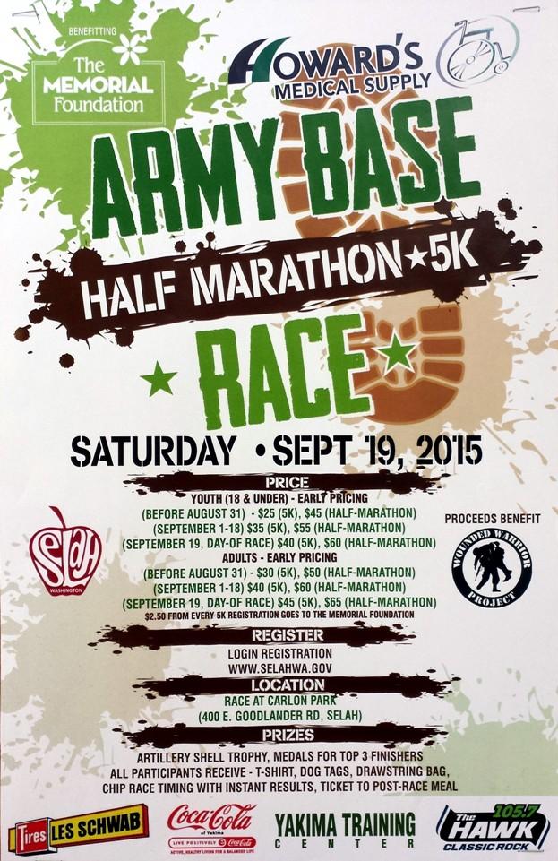 Army Base Race in Selah