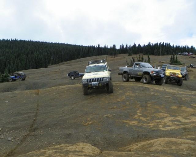 Photos: PNW4WDA Region 4 Pick Up A Mountain 46