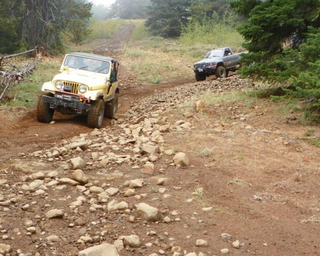 Photos: PNW4WDA Region 4 Pick Up A Mountain 53