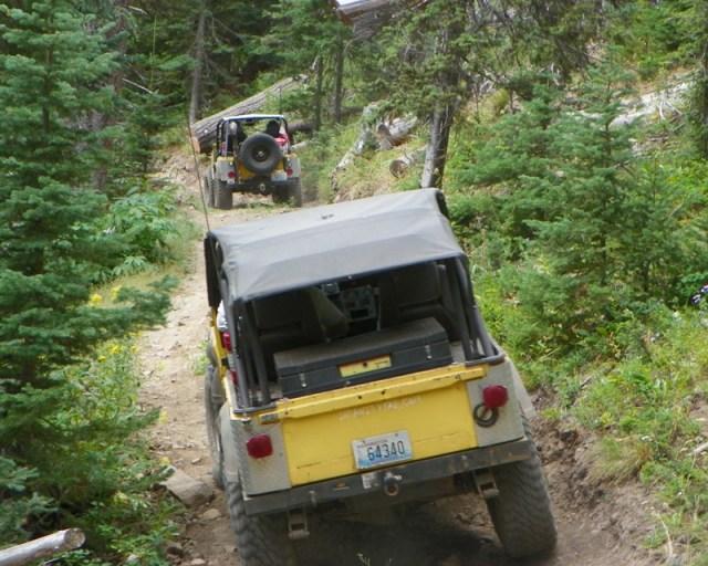 Photos: Yellow Jeep Run - Little Rattlesnake 19