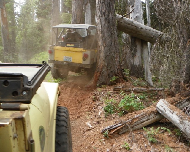Photos: Yellow Jeep Run - Little Rattlesnake 31