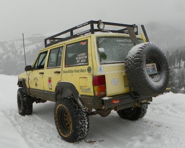 Photos: EWOR DNR Vehicle Counter Recovery Run at the Ahtanum State Forest 12