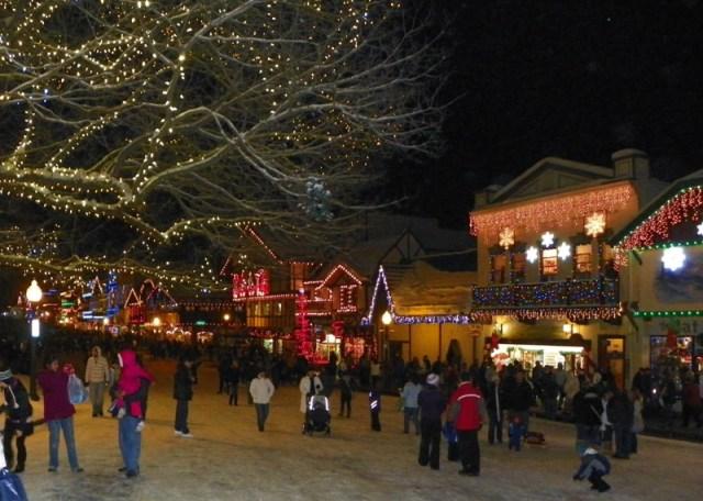 Photos: EWA Road Trip - Leavenworth Christmas Lighting Festival 36