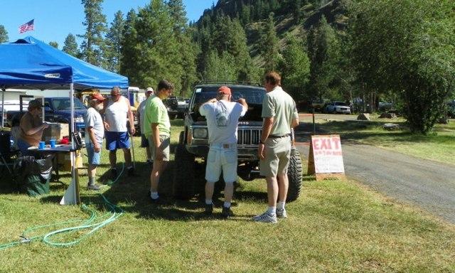 Pacific Northwest 4 Wheel Drive Association's 2011 Trail Jamboree – Day 1 of 5 4