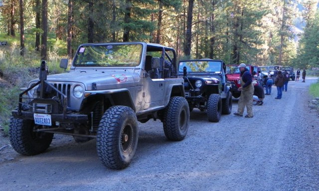 Pacific Northwest 4 Wheel Drive Association's 2011 Trail Jamboree – Day 2 of 5 4
