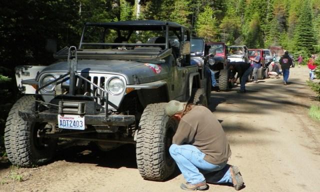 Pacific Northwest 4 Wheel Drive Association's 2011 Trail Jamboree – Day 2 of 5 6