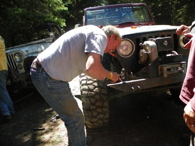 Pacific Northwest 4 Wheel Drive Association's 2011 Trail Jamboree – Day 2 of 5 40